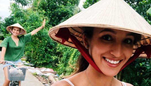 Sara Leutenegger in Vietnam: Verfolge Ihre Reise