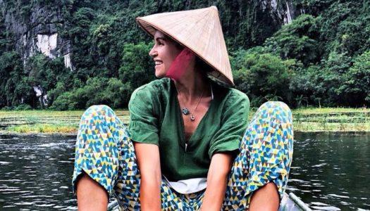 Influencer Sylwina Spiess reist durch Vietnam